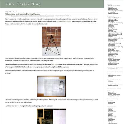 Full Chisel Blog