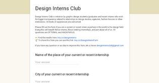 Design Interns Club