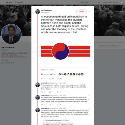 Ian Goodrum on Twitter