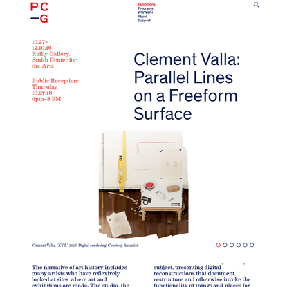 Clement Valla: Parallel Lines on a Freeform Surface