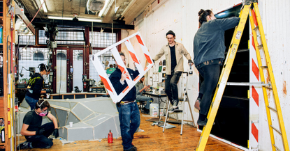 Tom Sachs's Workshop: Willy Wonka Would Approve