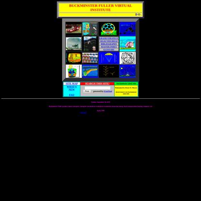 Buckminster Fuller Virtual Institute-HOME