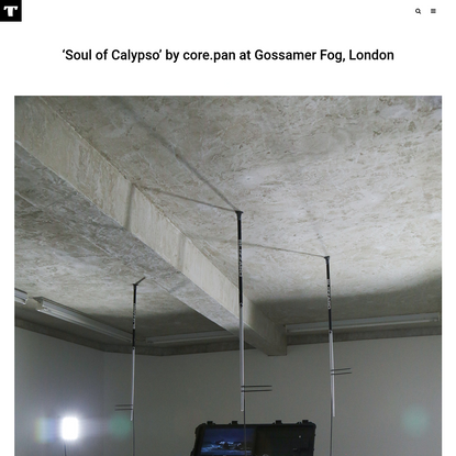 'Soul of Calypso' by core.pan at Gossamer Fog, London - Tzvetnik