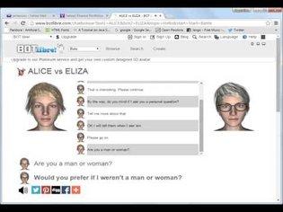 ALICE vs ELIZA
