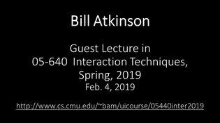 Bill Atkinson-2019-Feb-04