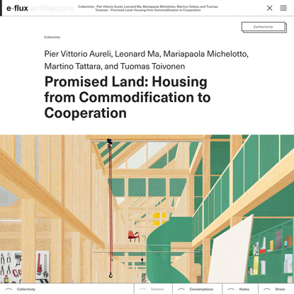 Promised Land: Housing from Commodification to Cooperation