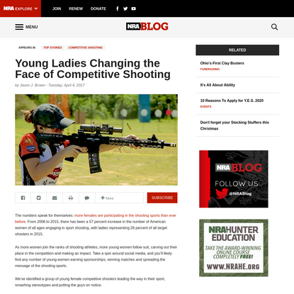 Young Ladies Changing the Face of Competitive Shooting