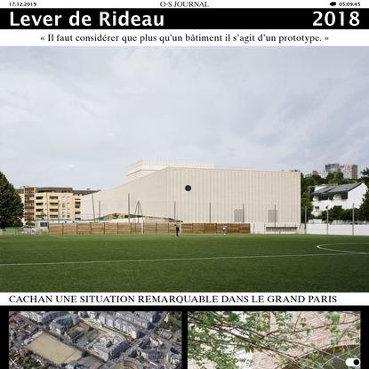 Lever de Rideau - ateliers o-s architectes