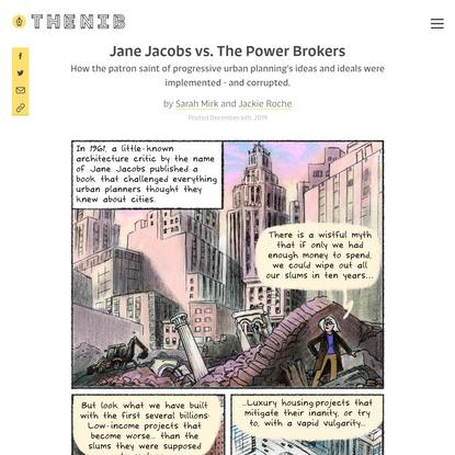Jane Jacobs vs. The Power Brokers