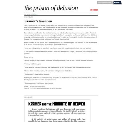 the prison of delusion
