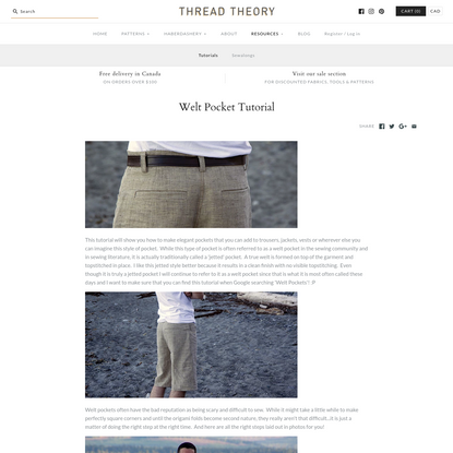 Welt Pocket Tutorial - Thread Theory