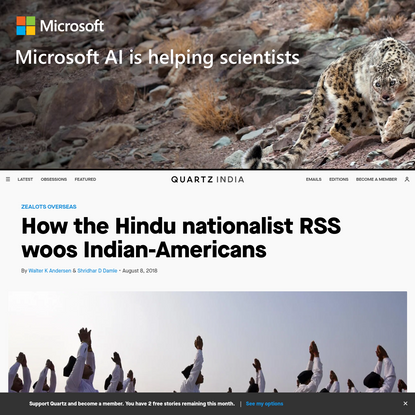 How the Hindu nationalist RSS woos Indian-Americans
