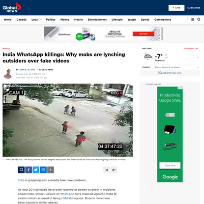 India WhatsApp killings: Why mobs are lynching outsiders over fake videos