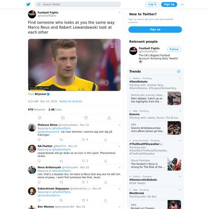 Football Fights on Twitter