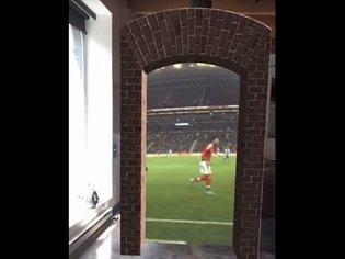 "Apple ARKit (AR Kit) - ""Portal"" To Football Stadium Benfica v Porto Demo"