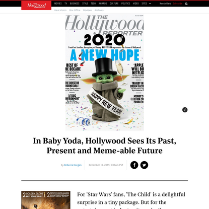 Baby Yoda Represents the Past, Present and Future of Hollywood   Hollywood Reporter