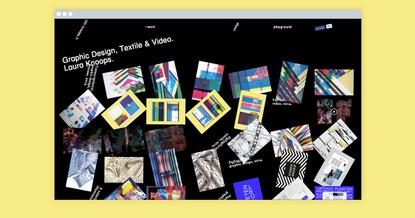 Laura Knoops - Graphic Design, Textile & Video