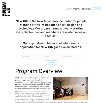 Apply - NEW INC