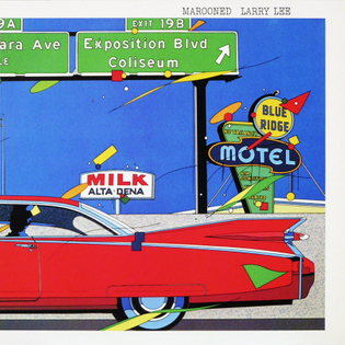 """Eijin Suzuki, cover for Larry Lee """"Marooned"""", 1982"""
