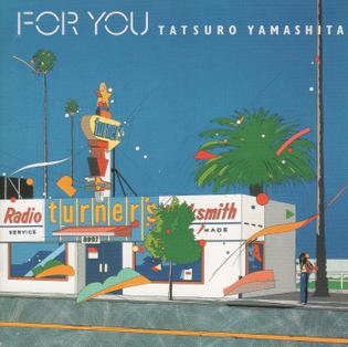 """Eijin Suzuki, cover for Tatsuro Yamashita """"For You"""", 1982"""