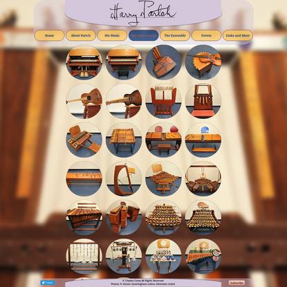 His Instruments   harrypartch