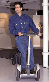 Dean Kamen, inventor of the Segway