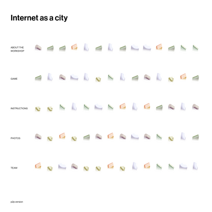 Internet as a city