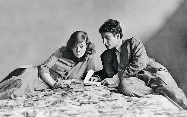 Lucien Freud + Lady Caroline Blackwood