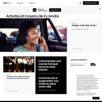 Uber Cote D'Ivore blog