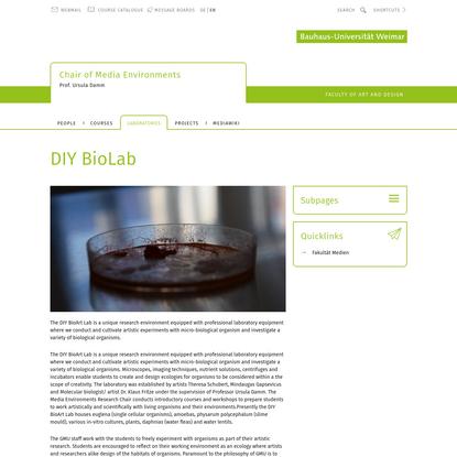 DIY BioLab