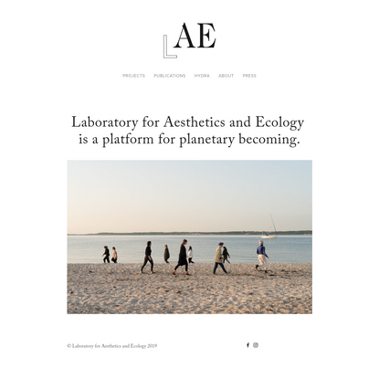 Laboratory for Aesthetics and Ecology