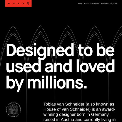 Tobias van Schneider - Design & Creative Direction