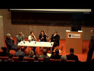"""""""Aesthetics and the Progressive: Architecture and the State of the Contemporary"""" Panel"""