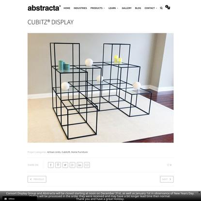 Cubitz® Display - Abstracta