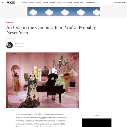 An Ode to the Campiest Film You've Probably Never Seen