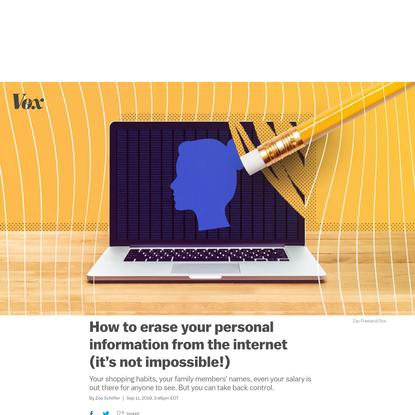 How to erase your personal information from the internet (it's not impossible!)