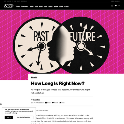 How Long Is Right Now?