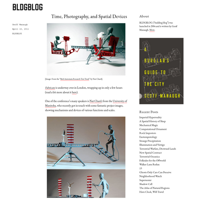 Time, Photography, and Spatial Devices – BLDGBLOG