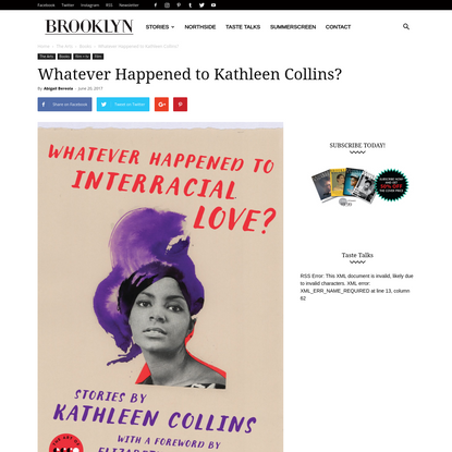 Whatever Happened to Kathleen Collins?