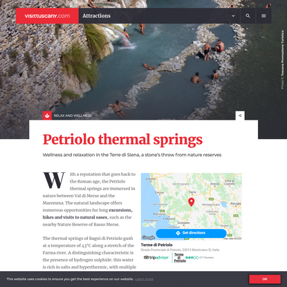 The thermal springs of Petriolo: wellness and relax | Visit Tuscany