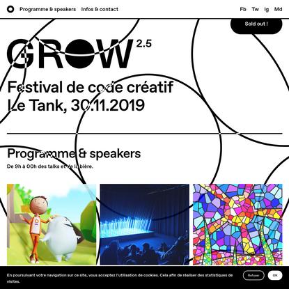 GROW Paris 2.5