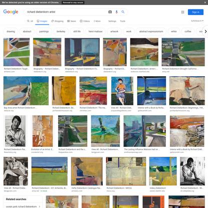 richard diebenkorn artist - Google Search