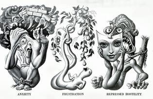 Neurotic Symptoms, 1947. Illustrated by Boris Artzybasheff