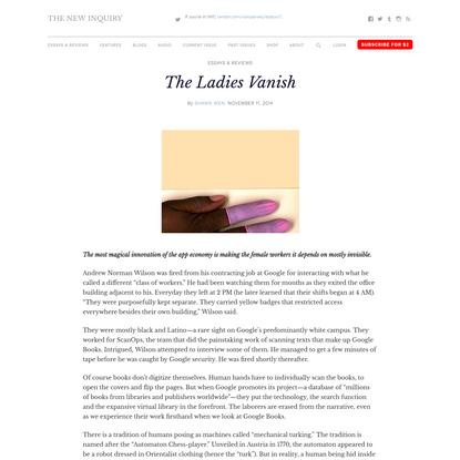 The Ladies Vanish