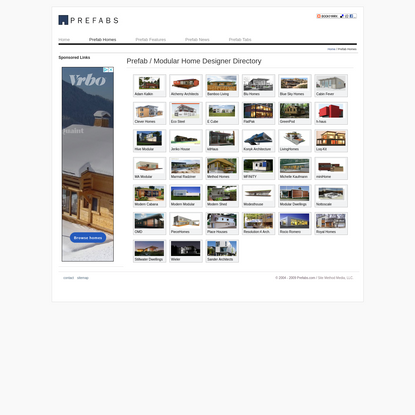 Prefab Homes | Modular Homes - Featured Designers at Prefabs.com