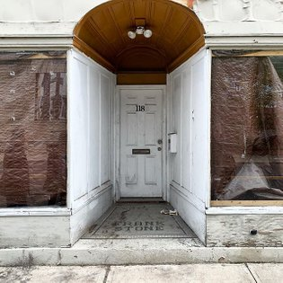 Forced perspective. #oldtown #trenton #tilework #frankstone #storefront #newjersey #nj #igersnewjersey #igerstrenton