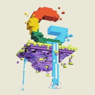 Pixels? Make way for voxels. When @google put out a challenge for creative interpretations of their logo, we took it to the ...