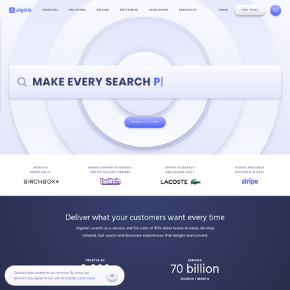 Create delightful Search and Discovery experiences