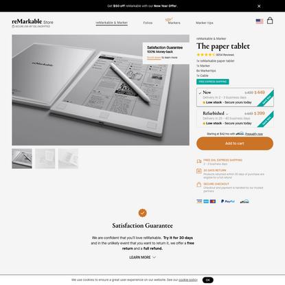 reMarkable & Marker
