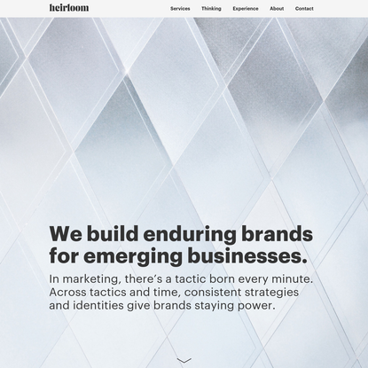 Heirloom | Brand Strategy and Identity